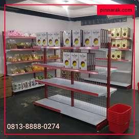 Rak Gondola Minimarket Swalayan Toko Warung Kelontong