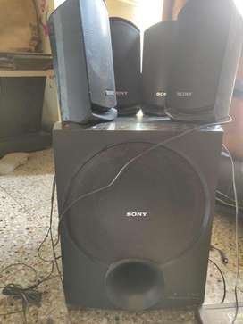 sony speakers with base