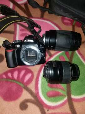 Nikon 3100D with two lens 1.8 yrs old, bill missing