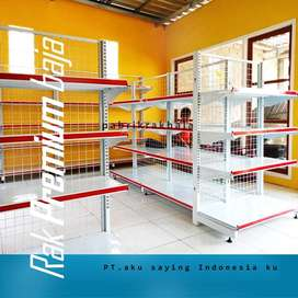 Rak Minimarket baja produksi langsung pabrik