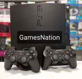 Ps3 with unlimited games bundle with controllers and accessories