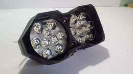 new unused 18 LED Fog / Head Light - For Cars and Motorcycles