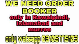 We NEED ORDER BOOKER