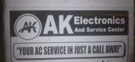 Required AC , led, washing machine mechanic