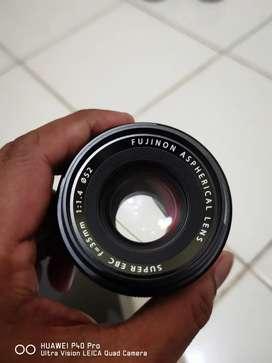 Lensa fujinon xf 35mm f1,4