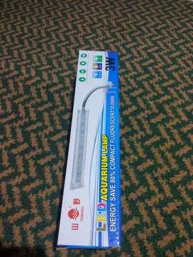 Lampu jepit yamano 3 watt aquarium /aquascape