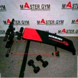 Sit Up Bench Alat Pembentuk Otot perut Six Pack Care Murah