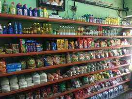 Successfully running vegetables shop cum provision store for sale..