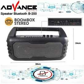 Speaker Aktiv Portable Bluetooth Advance b200