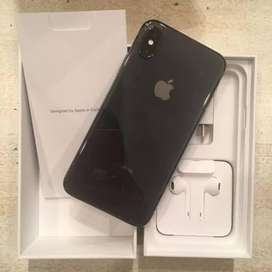 Iphone X brand new condition 10/10 complete box
