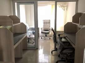 Furnished office space available for rent in vaishali