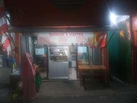take over kios warkop deprok dan warung makan