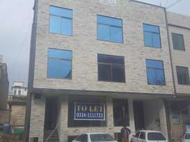 Commercial plaza 4 story,mansehra road Supply atd,