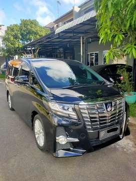 Alphard Facelift 2.5 2015 (Istimewa)