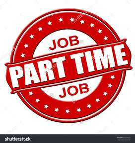 Available Part time / full time work at Top M.N.C company