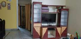 Showcase with TV cabinet