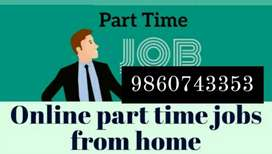 Home based part time job in data edditing and formating work from home