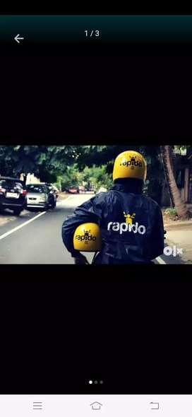 Joining bonus Rs.1100 for Rapido captain