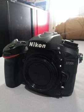 Nikon D7200 fulset Body only