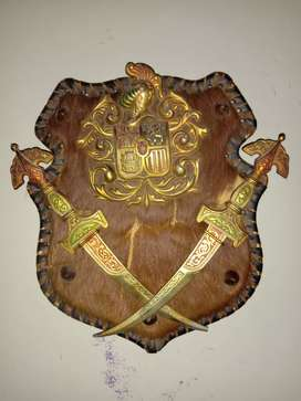 Vintage Heraldic Shield available for sale