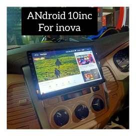 Sale audio promo//Head Unit android DHD 10inc INova