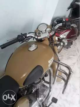Classic 500 cc desert strome