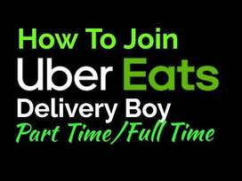 Join now UBER EATS as Food delivery executives