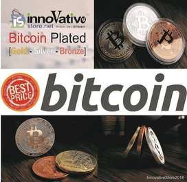 Bitcoin Fisik Gold Bronze Silver Plated