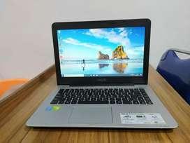 Laptop Asus A455LN Intel Core i3 - 4030 RAM 4GB HDD 500GB siap pakai