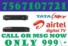 NEW OFFER TATASKY AND AIRTEL DTH