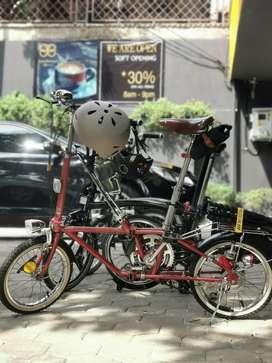 Sepeda Lipat Dahon Klasik California 1995