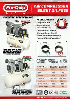 kompresor portabel Qos12(0.75hp)& kompresor portabel Qos25(1hp) promo