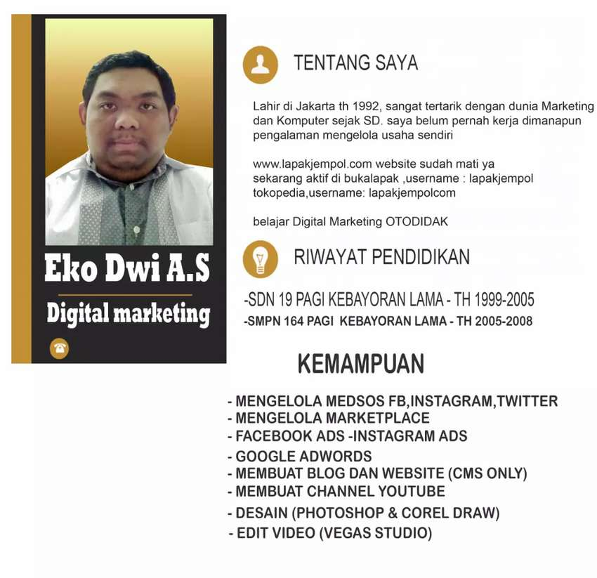 Kursus digital marketing desain grafis basic 0