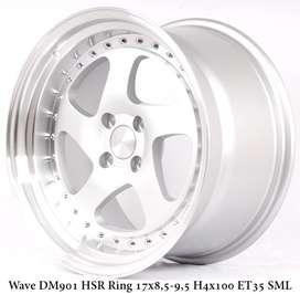 WAVE DM901 HSR R17X85/95 H4x100 ET35 SML