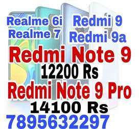 Redmi Note 9, Redmi Note 9 Pro , redmi 9 , realme 6, 6i, Realme 7 7pro