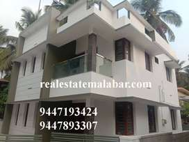 New 3 bedroom house for sale at Pavangad Price:53 lakhs,Area: 3.5 Cent