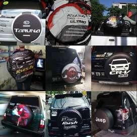 Cover/Sarung Ban Touring/Ecosport Toyota Rush/Terios/Gold Quality#Batm