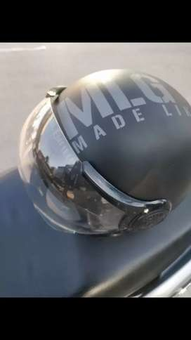 Royal Enfield helmet 1909 up for sale very less used in mint condition