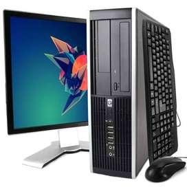 hp (core i3 *3d gen 8gb 500gb 17inch kb mouse A++ )