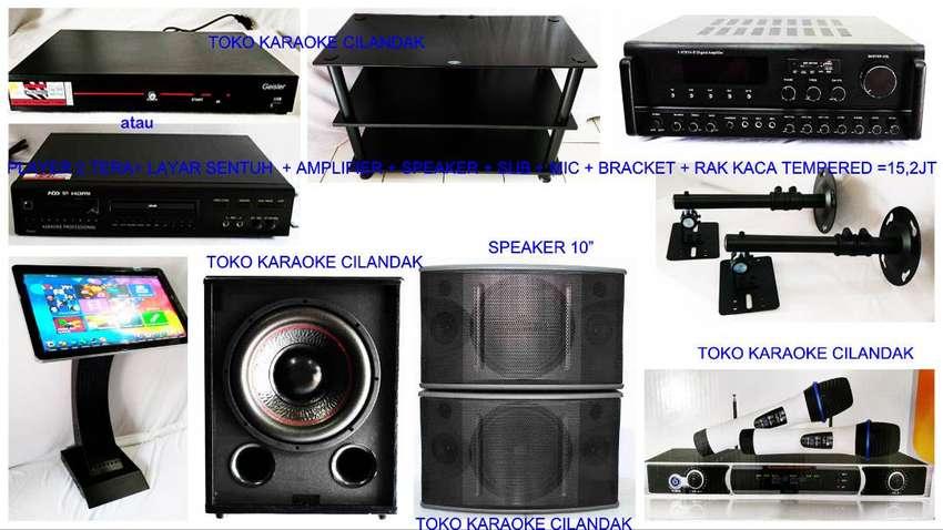 new paket karaoke+bracket+rak 15 ,2 juta 0