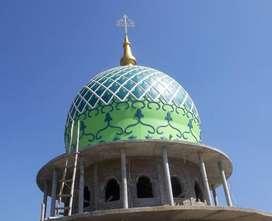 Kubah Masjid GRC Jasa Kontraktor Handal dan Ahli