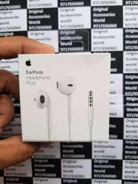 100% Original Earpods Apple Earphone Handsfree for iPhone 5s/5/6/6s/7