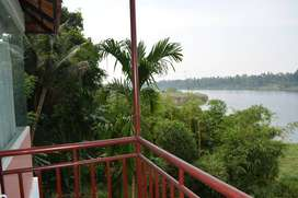 3 BHK  residential River view villa for sale in kodunthirapully