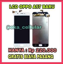 Lcd Oppo A57 Murah dan gratis pasang (EKA CELL PS)