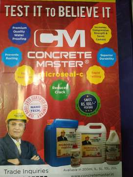 Marketing of construction chemical