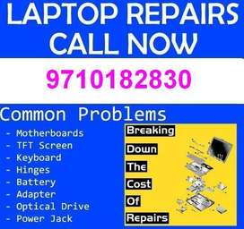 Broken Laptop Service | OS Installation Service | Motherboard Repair