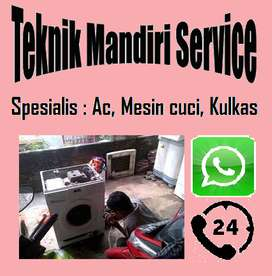 Service Mesin cuci Kulkas Ac & bongkar pasang Ac