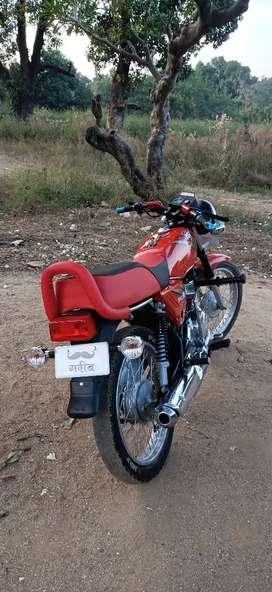 Suzuki max 100 modified bike