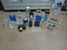 Borongan botol parfum original ada 22 buah 350rb