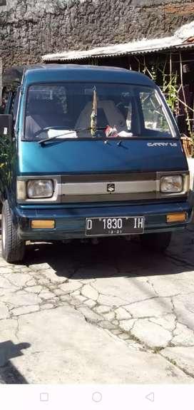Jual mobil carry mb thn 1995, biru metalik,mesin normal,surat2 lengkap